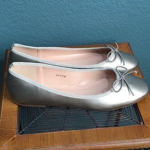 Brinley Co Women's Viki Ballet Flat - Pewter